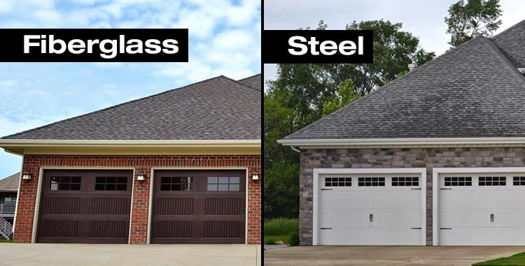 Fibergl Vs Steel Garage Doors What You Need To Know